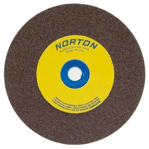 Oxide, Norton Premium White Bench and Pedestal Abrasive Wheel Type 01 Straight